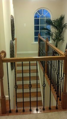 Another Gem In The Range Of Diy Luxe Upgrades Is Iron Baer Staircase Rail Builders Offer This Feature As A Premium But Why Pay