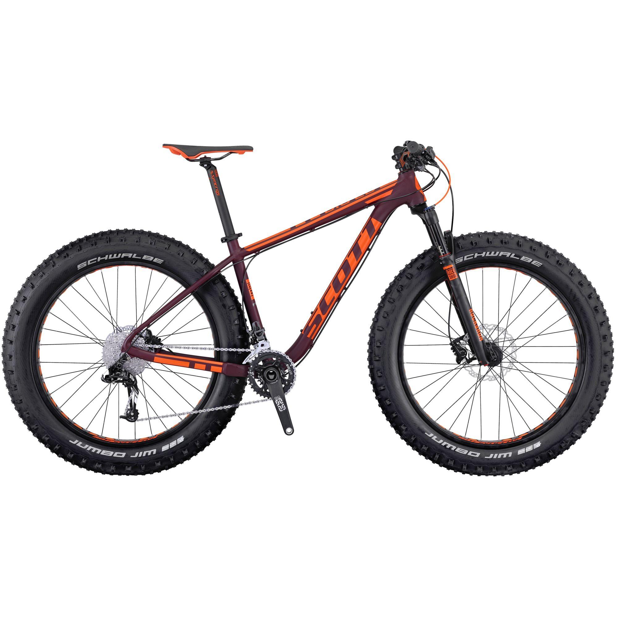 National black bikers roundup 2016 - 2016 Scott Big Ed Hardtail Fat Bike Orange