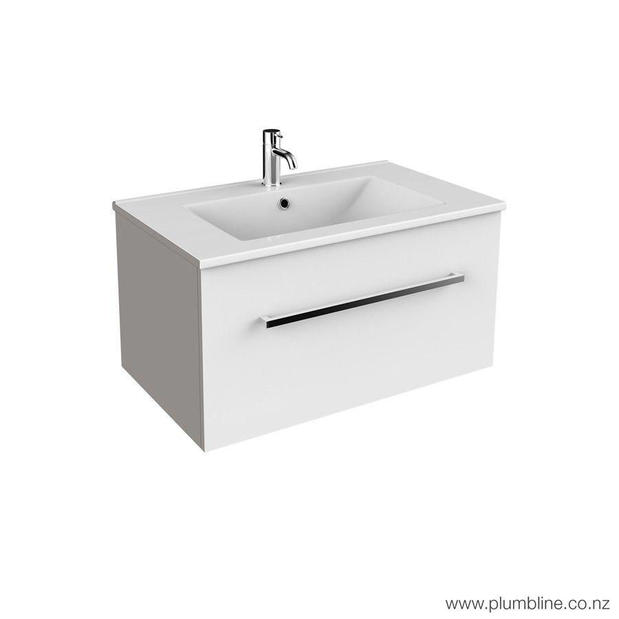 Reflex 750 1 Drawer Wall Vanity Drawers Vanity Bathroom Furniture