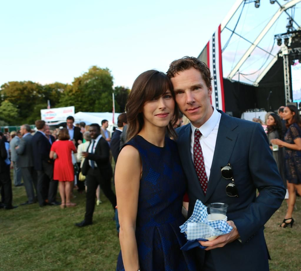 Benedict Cumberbatch Sophie Hunter At The U S Embassy S 4th Of July Party In London At