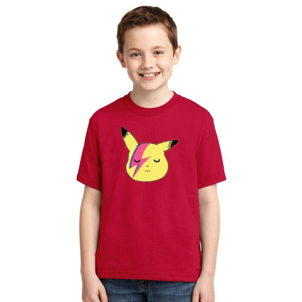 Pikachu - David Bowie Youth T-shirt