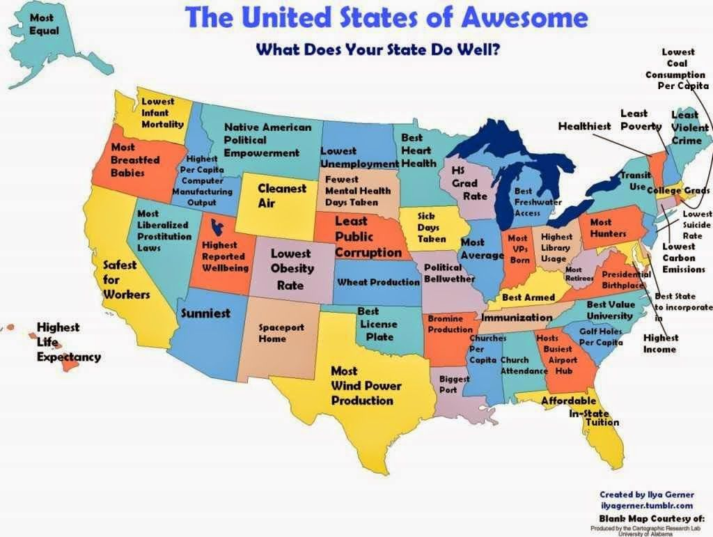 usa positive stereotype map ideas pinterest