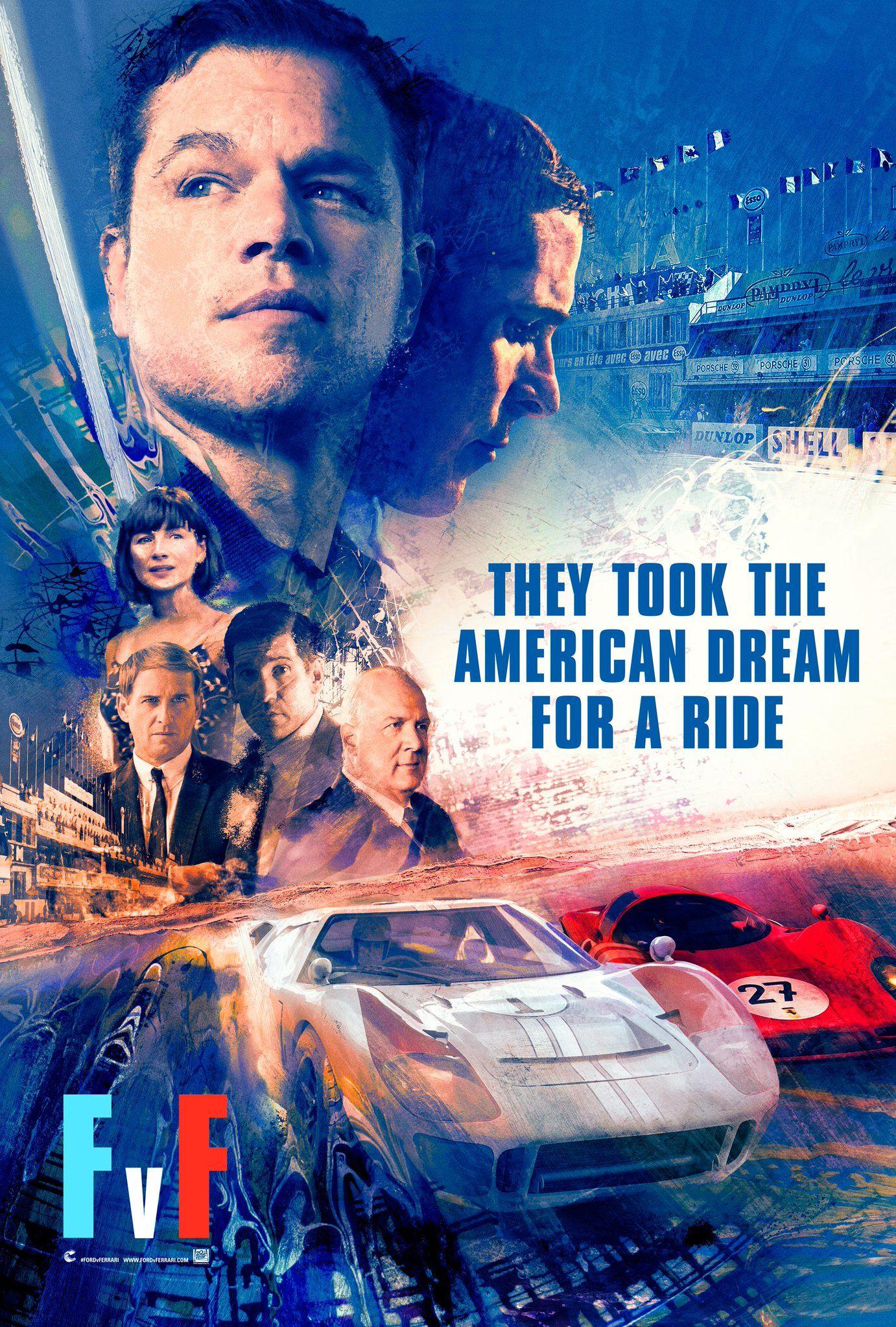 Ford V Ferrari On Twitter Ferrari Epic Film Movie Posters