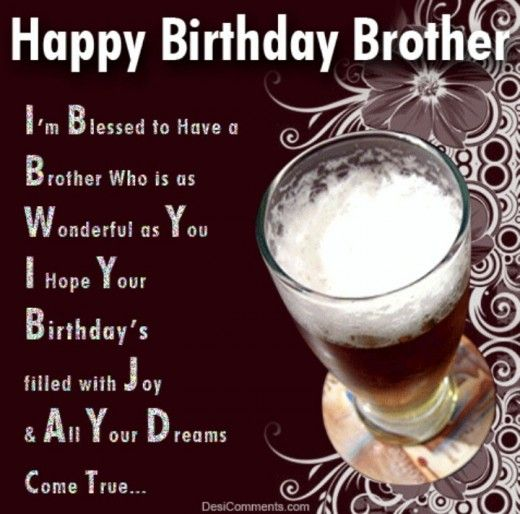 Happy Birthday Quotes For Elder Brother
