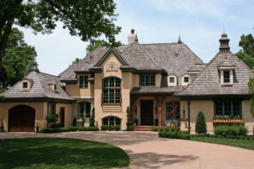 Beautiful home exteriors on pinterest mediterranean for French country home