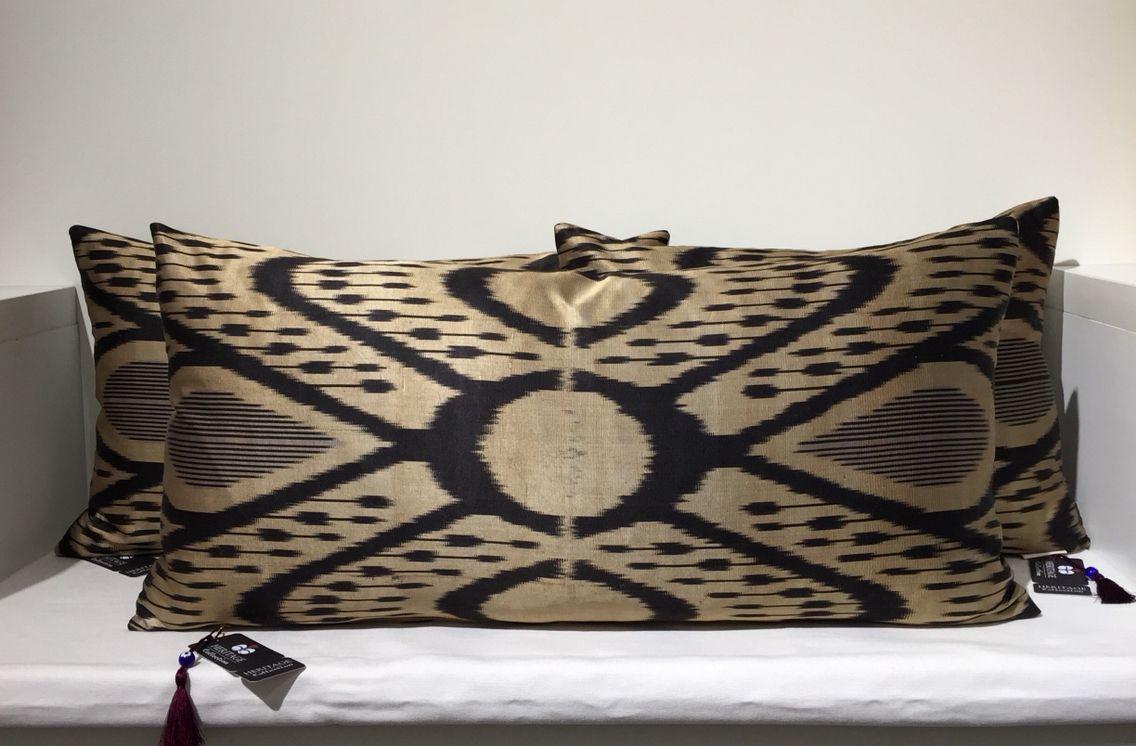 Ikat /ikat silk Heritage Collection Cushions
