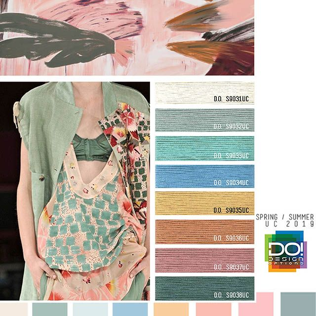 #DesignOptions SS19 Women's color forecast on # ...