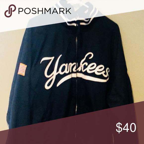 Ny Yankees Majestic Athletic Authentic Jacket In 2020 Jackets White Jacket Ny Yankees