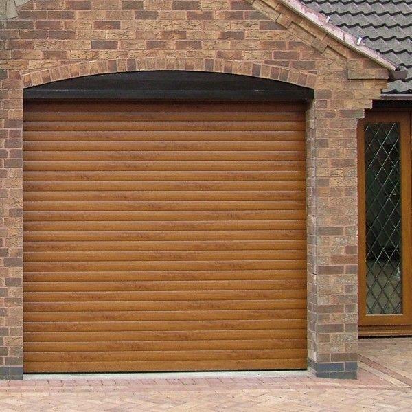 Suparolla Woodgrain Samson Aluminium Roller Garage Doors Insulated Buy Roller Garage Doors Garage Doors Deck Designs Backyard Doors