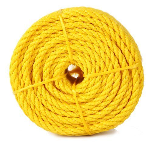 Koch 5001636 Twisted Polypropylene Rope 1 2 By 100 Feet Yellow By Koch 24 99 From The Manufacturer Best Knots Rv Parts And Accessories Poly Rope