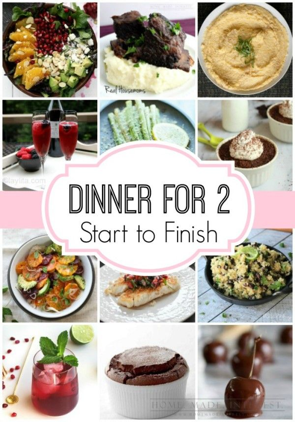 dinner for two meal plan start to finish valentines dinner recipesdate - Easy Valentine Dinner Recipes