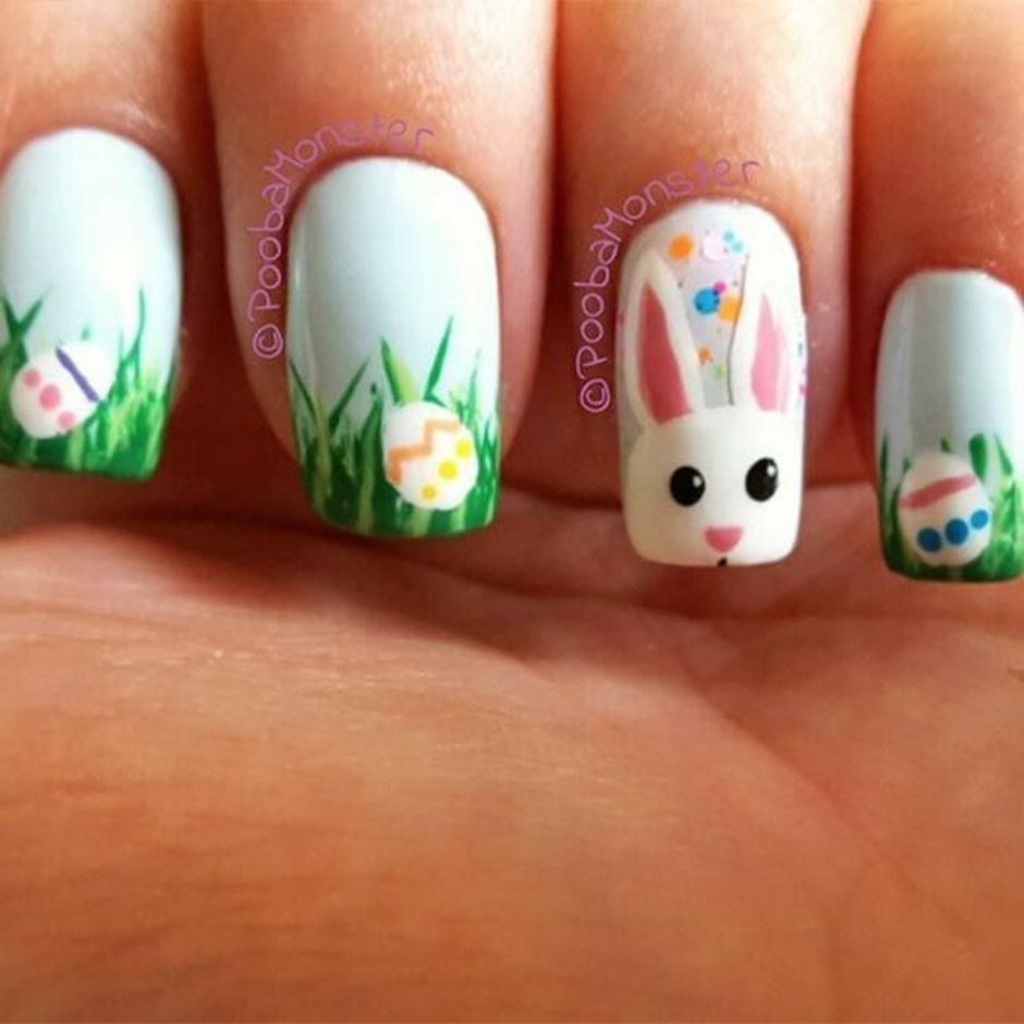 Easy and Cute Easter Nail Art Design Ideas  Easter nail art