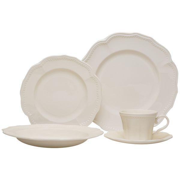 Red Vanilla 20-piece Classic White Dinnerware Set - Overstock™ Shopping - Great Deals  sc 1 st  Pinterest & Red Vanilla 20-piece Classic White Dinnerware Set - Overstock ...