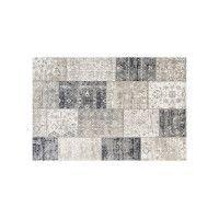 Vloerkleed Retro Anthracite/Grey