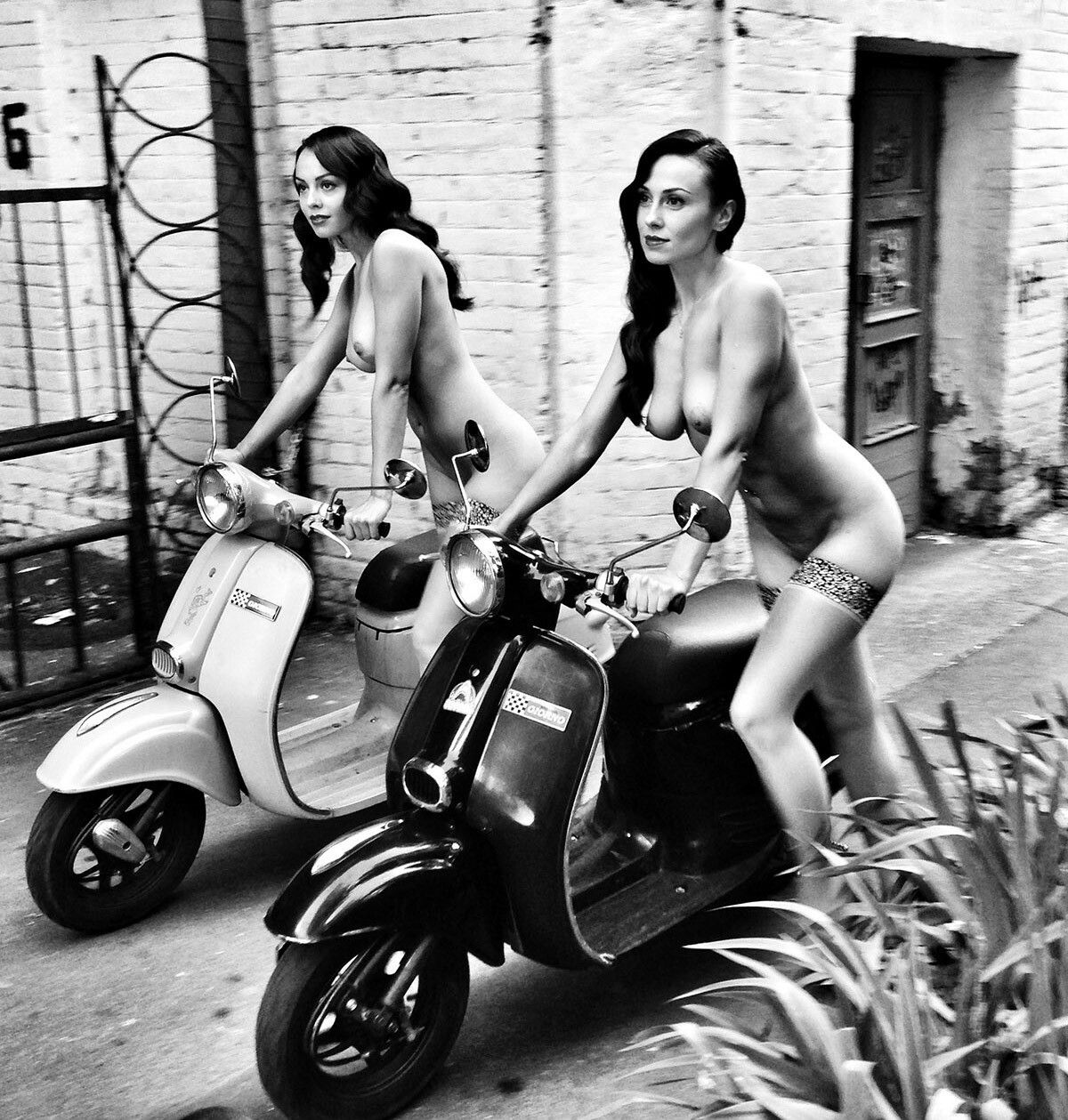 Sorry, that nude women on scooters consider