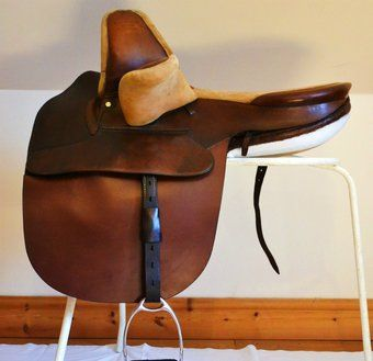 CHAMPOIN & WILTON SIDE SADDLE, FULLY RESTORED BY MASTER