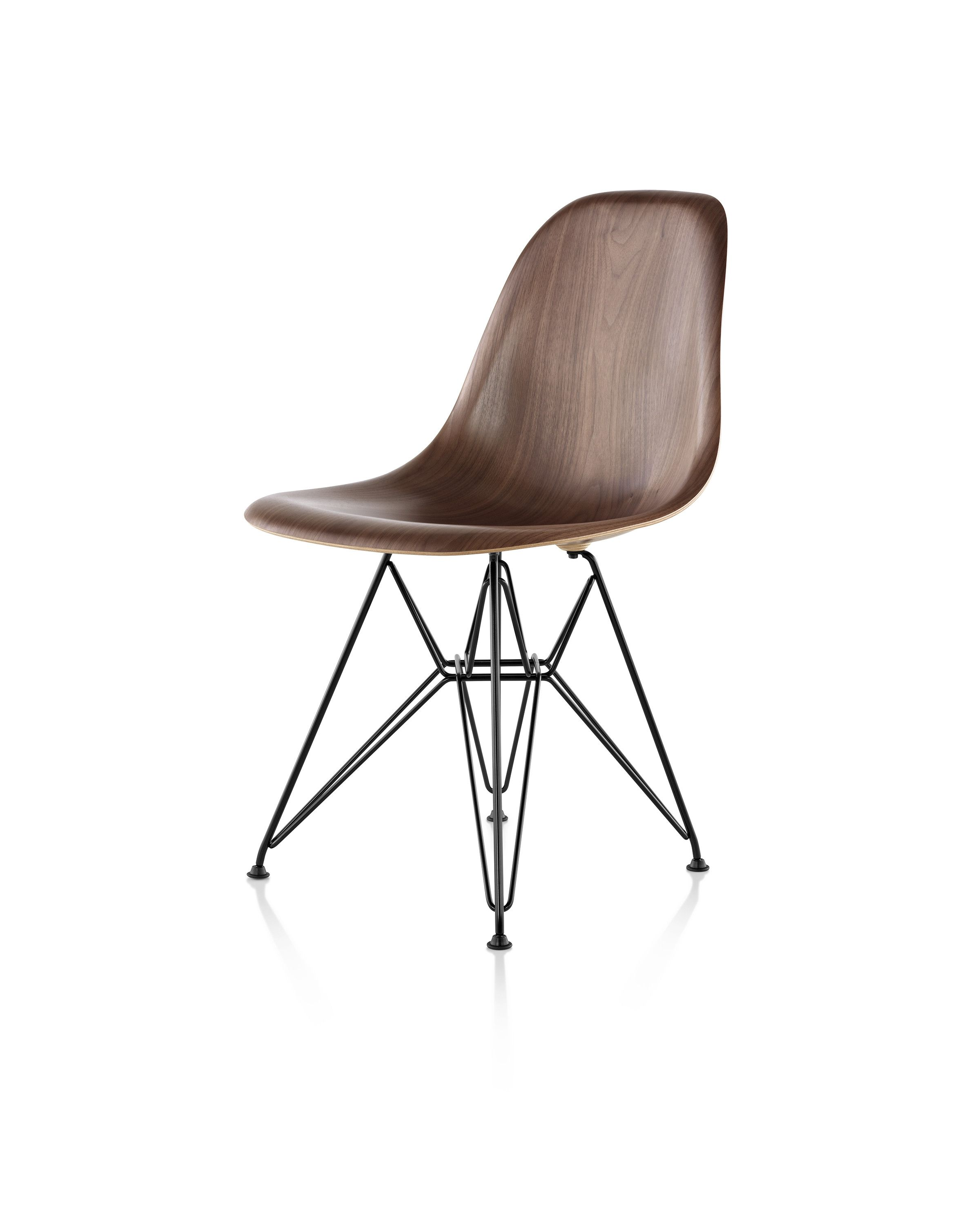 Broom chair for emeco in 2012 to showcase the properties of a new wood -  Eames Molded Wood Chair By Hermanmiller