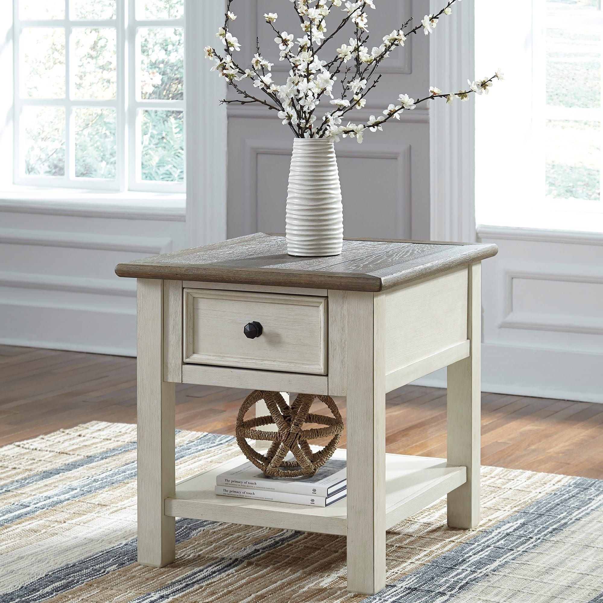 Bolanburg End Table Living room end tables, Living room