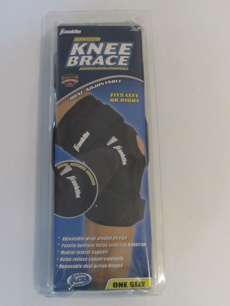 3b869994d NEW Franklin Hinged Knee Brace Antimicrowbial Protected - Fits Left or  Right  Franklin