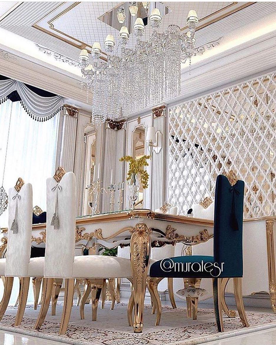 Pin By Zainab Almgoter On صاله استقبال Dinning Room Decor Dinning Room Tables Home Design Decor