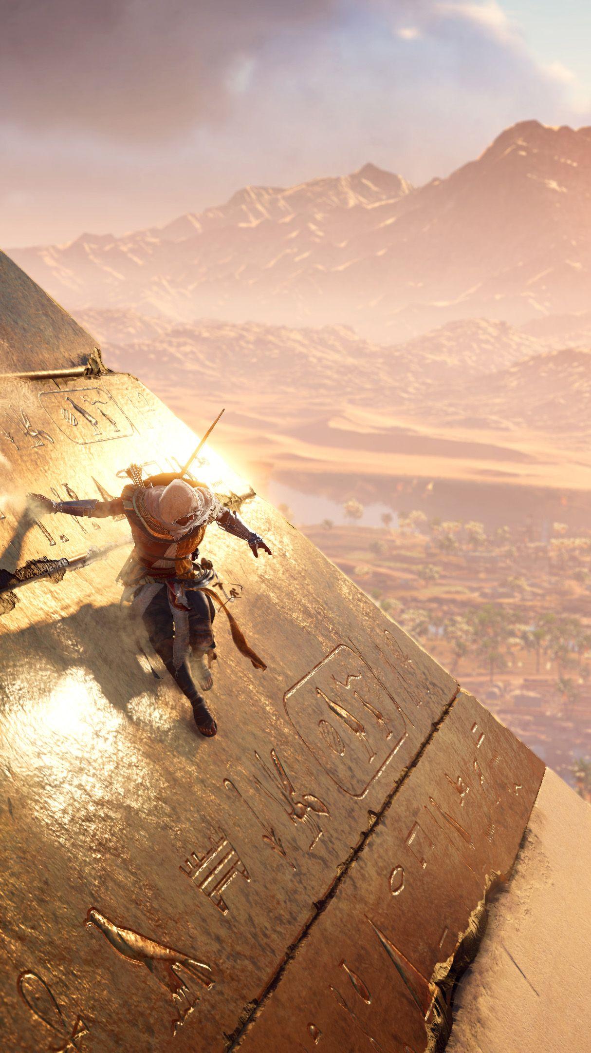Bayek Assassin S Creed Origins Assassins Creed The Assassin Jeux Video Arts