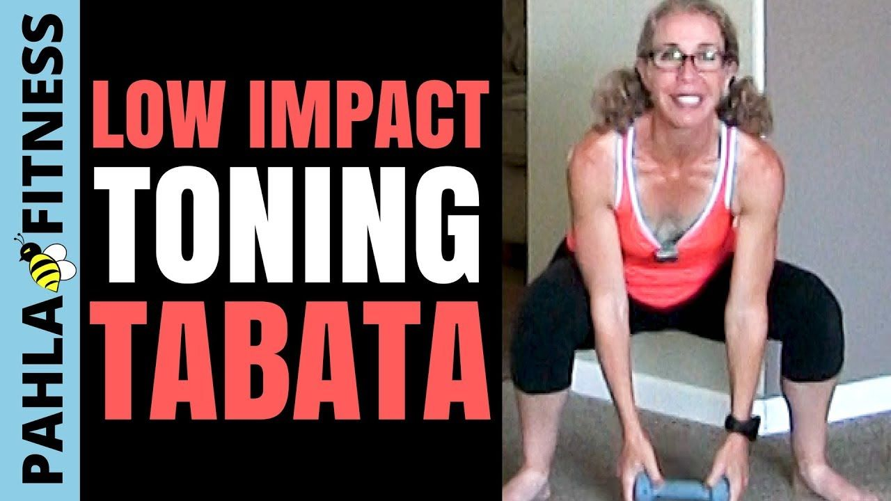 Dumbbell Tabata 25 Minute Low Impact Cardio Toning High