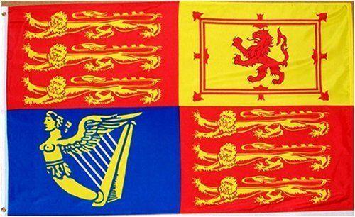 British Uk Royal Standard Flag 3 Foot By 5 Foot Polyester New By Royal Flag 2 95 3 Foot By 5 Foot Indoor Ou Royal Standard Flag Historical Flags Flag
