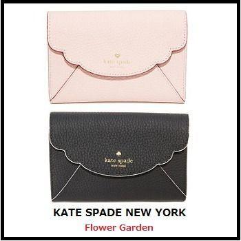 247424fd4c08 Kate spade ケイトスペード キーラン 財布 三つ折り 黒 ピンク | 財布 in ...