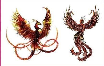 Pas Cher Achetez Directement De China Suppliers Phoenix Tatouage