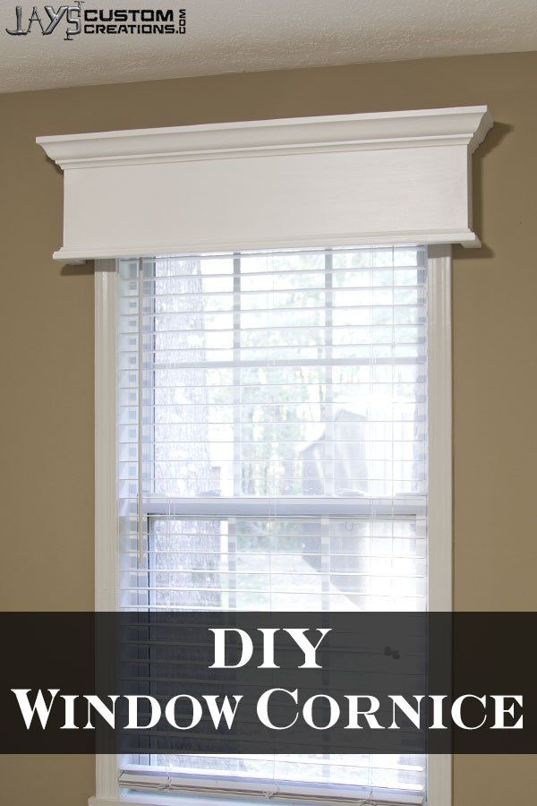 Pinterest Window Cornice Diy Wood Projects Pinterest