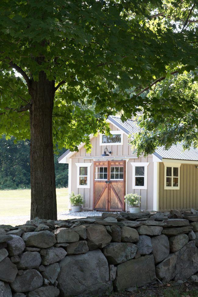 Outdoor Barn And Sugar House