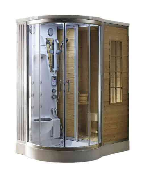 Steam Sauna Combination | Home Steam Room | Steam Spa Shower Kit U0026 Units In  USA