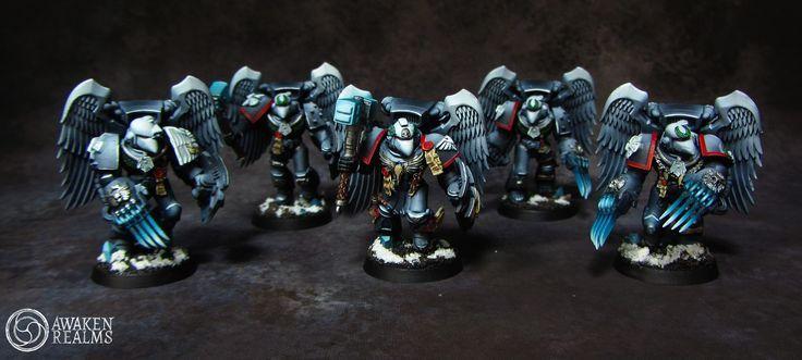 Raven Guard army by Awaken Realms