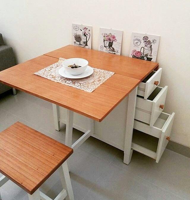 Hasil gambar untuk Meja Makan Kayu di Ikea