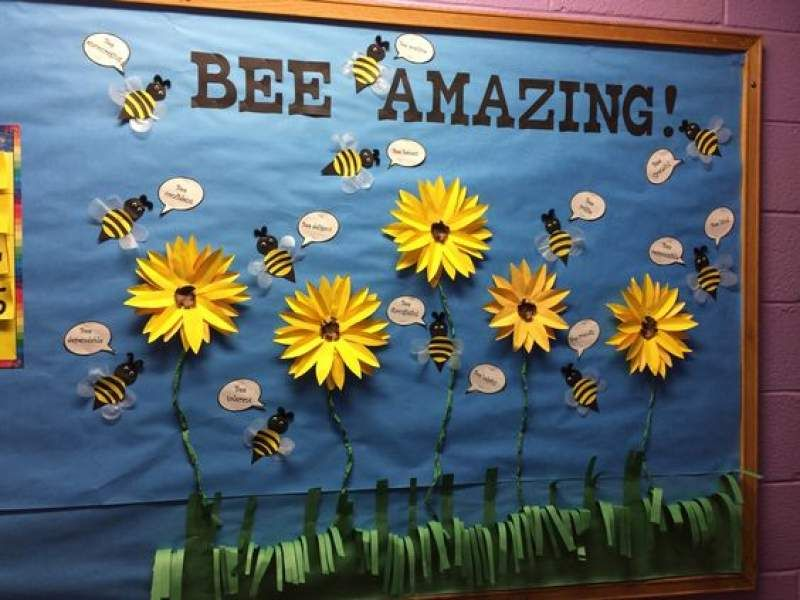 15 March Bulletin Board Ideas For Spring Classroom Decoration Hike N Dip Boards