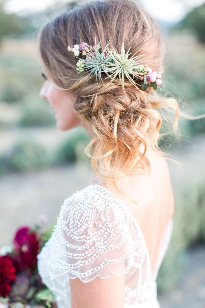 50+ best wedding hairstyles for a strapless dress - wedding hairstyles  - cuteweddingideas.com
