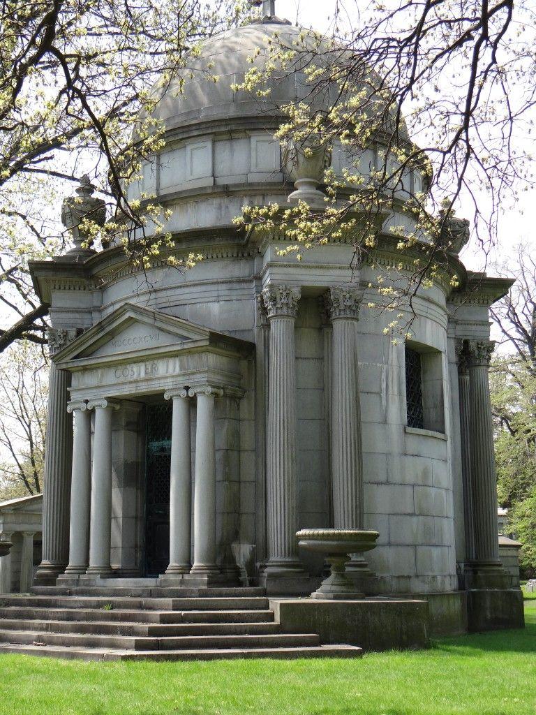 WoodlawnCostermausoleum58 Woodlawn cemetery, Cemetery