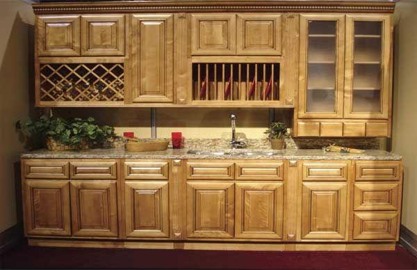 hickory cabinets   Italian Hickory RTA Kitchen Cabinets ...