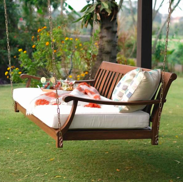 Patio Swing Porch Bed, Patio Swing Home Depot