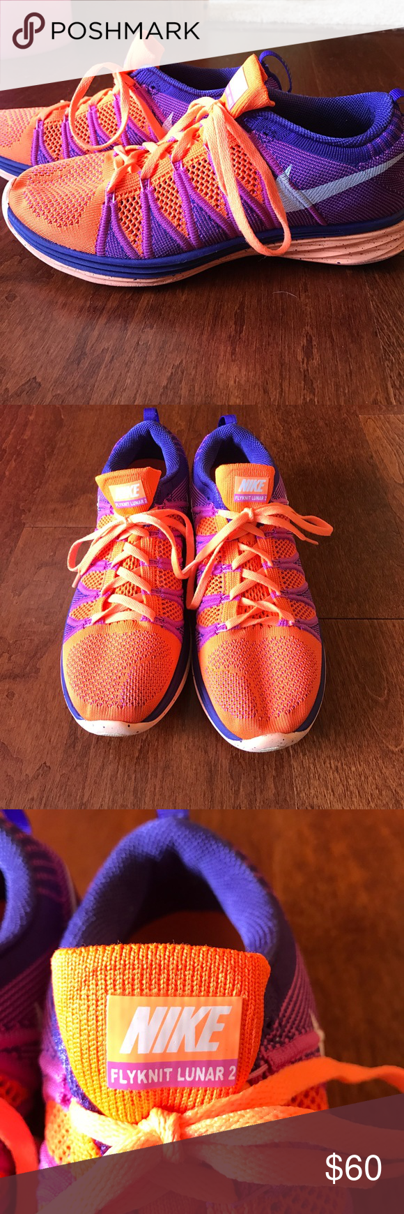 half off 8101e 92591 where can i buy orange and purple womens nike flyknit lunar 2 19880 62557