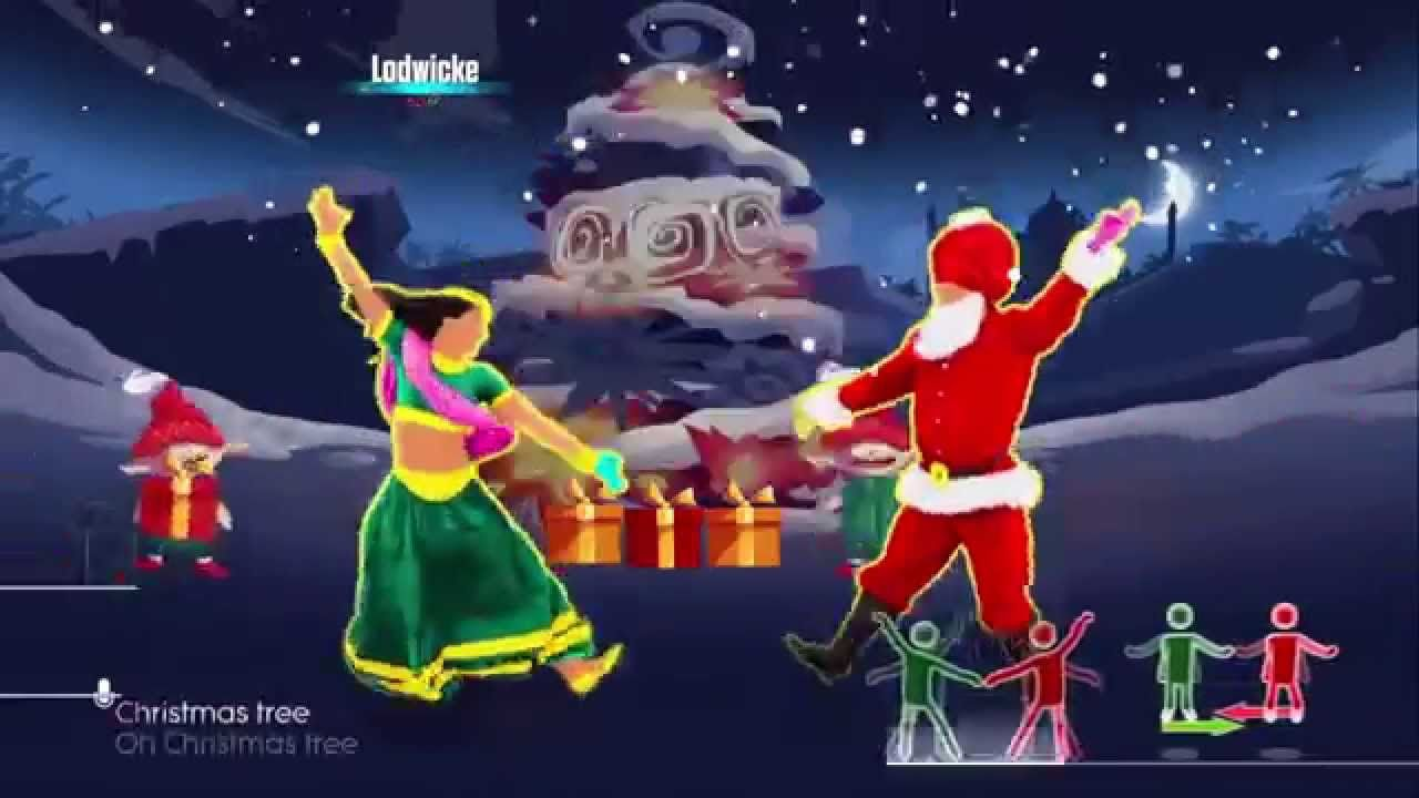 Xmas Tree Bollywood Santa Just Dance 2016 Just Dance 2016 Just Dance Youtube