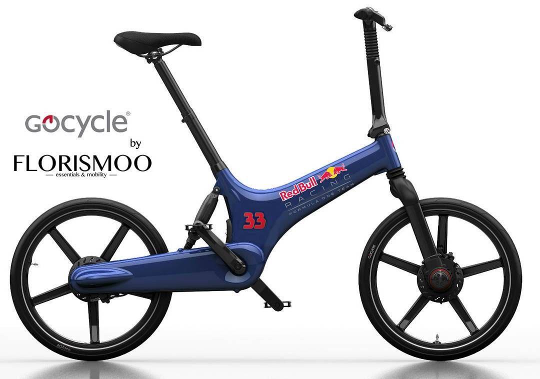 Instagram picutre by @florismoo: Max is dit leuk om mee te nemen naar je volgende Grand Prix past namelijk goed bij je #RB12  #florismoo #redbull #gocycle #ebike #maxverstappen #f1 - Shop E-Bikes at ElectricBikeCity.com (Use coupon PINTEREST for 10% off!)