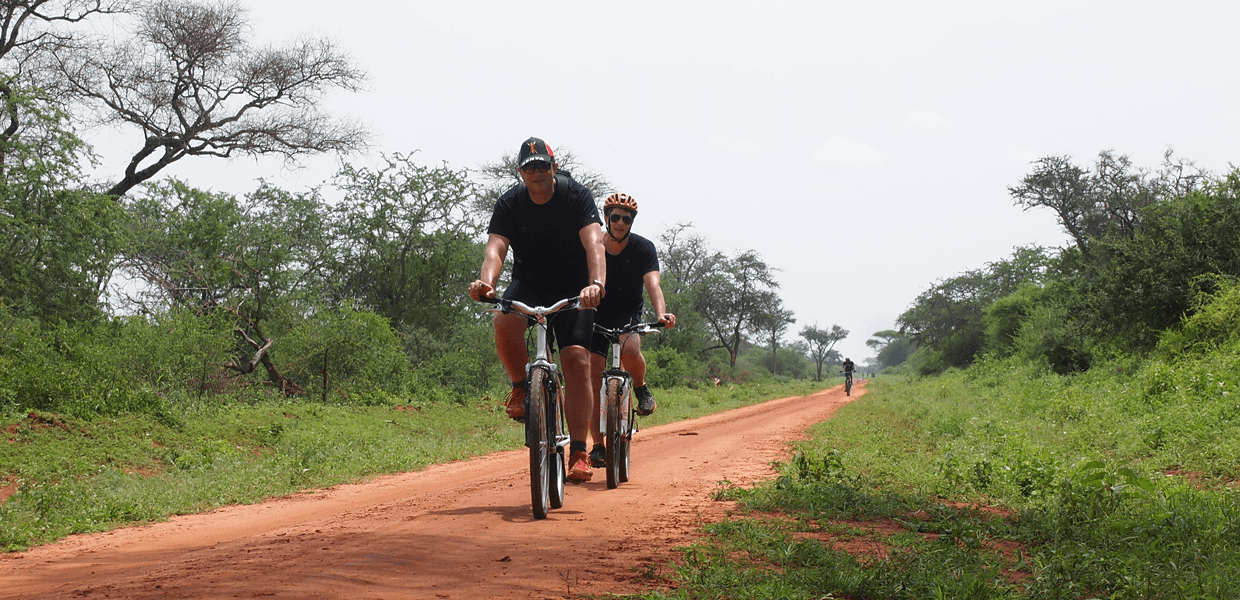 African cycling tour from Kilimanjaro to Indian Ocean
