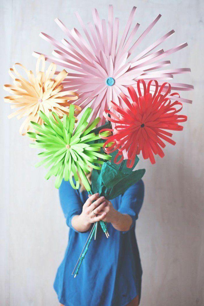 kreativ basteln diy chrysanthemen flowers pinterest blumen selber basteln chrysanthemen. Black Bedroom Furniture Sets. Home Design Ideas