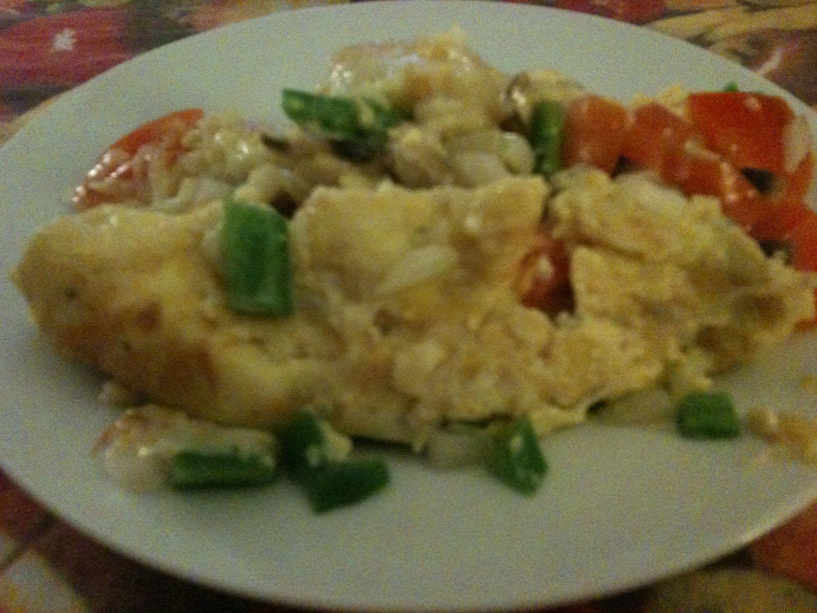 Tortilla de verduritas y queso fundido http://www.fogonesfacilones.com/2012/07/tortilla-de-verduritas-y-queso-fundido.html