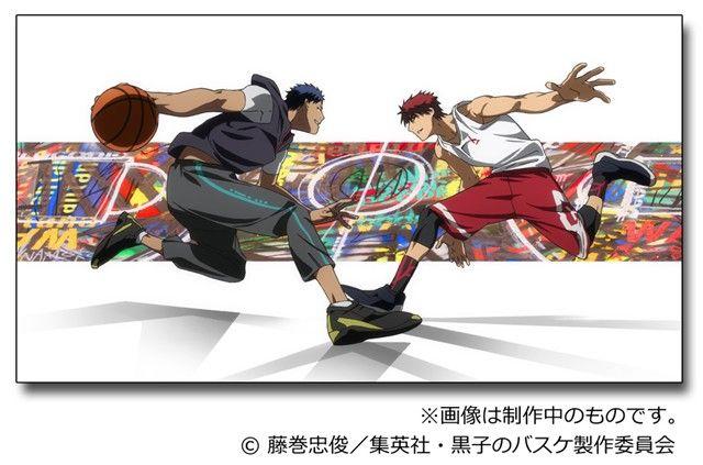 Kuroko S Basketball Film Adapting Extra Game Manga Reveals Visuals