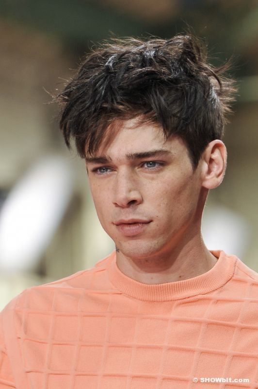 Cole Mohr at Paul Smith SS/2014 Show
