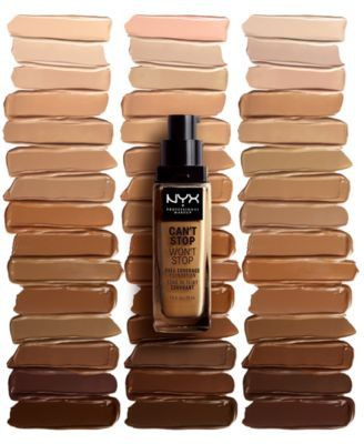 fb2fd8704 Nyx Professional Makeup Can't Stop Won't Stop Full Coverage Foundation -  Natural