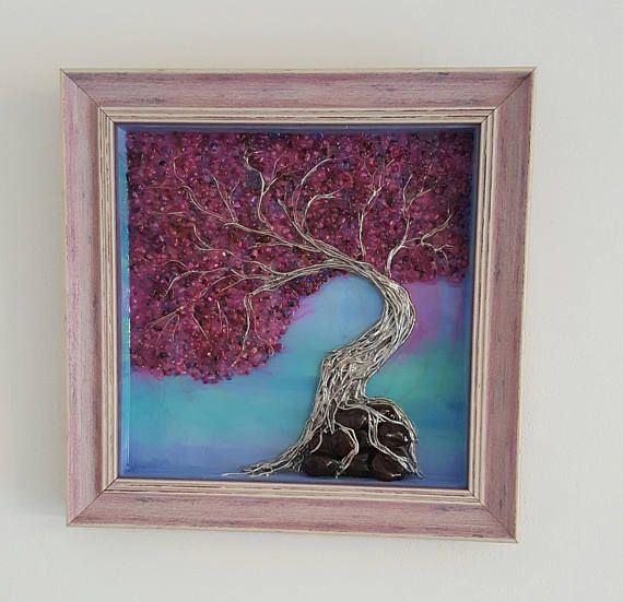 Check out this item in my Etsy shop https://www.etsy.com/il-en/listing/521584827/handmade-3d-art-framed-silver-tree-on
