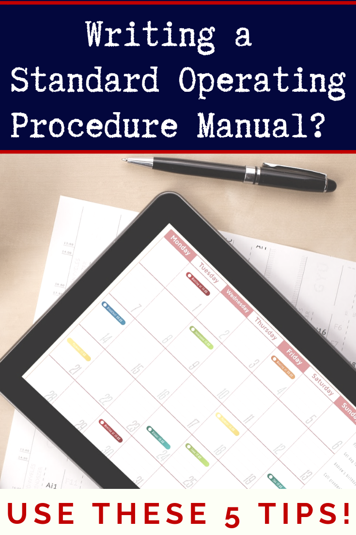 How To Write A Truly Useful Standard Operating Procedure Manual Standard Operating Procedure Standard Operating Procedures Manual Business Manual